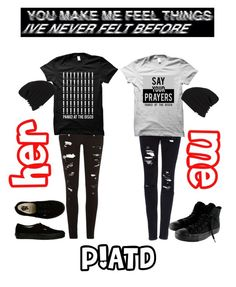 """""""colab set!!! read d!!"""" by lifesgrates ❤ liked on Polyvore featuring River Island, Pull&Bear, Vans and Converse"""