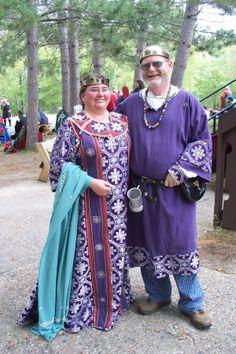 Byzantine in Purple and Brocade  #Byzantine #garb #SCA