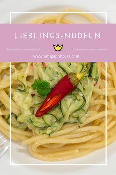 lieblingsnudeln, zucchini, #pasta #courgette #zucchini #schafskäse #feta #chili #quick #lunch #dinner www.amigaprincess.com