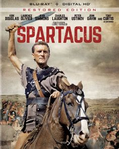 Spartacus (Restored Edition) - Blu-Ray (Universal Region A) Release Date: October 6, 2015 (Amazon U.S.)