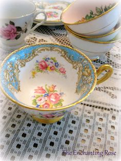 The Enchanting Rose: A Collection Of Tea Cups