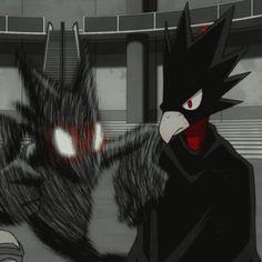 Tokoyami Boku No Hero, Anime Cover Photo, Baby Crows, Aizawa Shouta, Hero 3, Anime Boyfriend, Cute Anime Boy, Titans Anime, Attack On Titan Anime