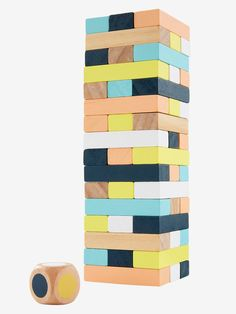 Wooden Tower of Hell - beige light solid, Toys Diy Furniture Projects, Wood Projects, Craft Projects, Diy For Kids, Gifts For Kids, Bday Gift For Boyfriend, Building Toys For Kids, Wood Games, Diy Games