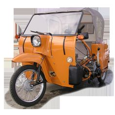 Simson, GDR, Krause-Duo Schwalbe-based vehicle for the disabled. - Simson, GDR, Krause-Duo Schwalbe-based vehicle for the disabled. There were also fixed bod - Simson Duo, East German Car, Vintage Cars, Antique Cars, Jawa 350, Ddr Museum, Rda, Beast From The East, Weird Cars