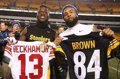 New York Giants Team Grades vs Pittsburgh Steelers Steelers Win, Here We Go Steelers, Pittsburgh Steelers, Giants Team, Antonio Brown, Odell Beckham Jr, Steeler Nation, Win Or Lose, Nba Players