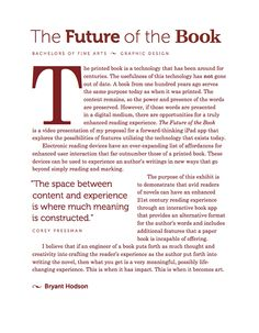 The Future of the Book | UX on Behance