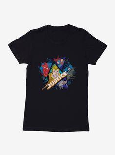 Lâche j'aime les années 1990 Pop Star Ladies T-Shirt-Top Party rétro Déguisements