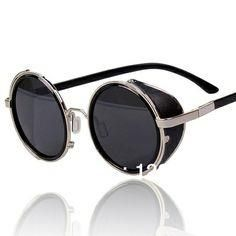 c2958aeea655 Arctic Star 80 s Style Vintage Style Inspired Classic Round Sunglasses Very  Popular Silver frame