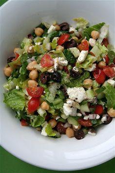 Mediterranean Chopped Salad Recipe | Key Ingredient
