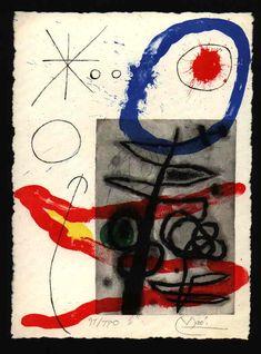 Taurus - JOAN MIRÓ - Catalogue of the original printed works No: 375 - www.kuenstlergruppe.de