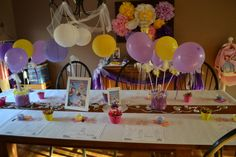 Sofia the First Party Table #sofia #table