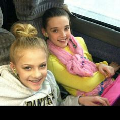Dance Moms Paige and Kendall