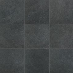 Main Street Porcelain Stone's contemporary palette of neutral tones and textures look and feel at-home almost anywhere. Browse our Boutique Black color. Crossville Tile, Stone Flooring, Stone Tiles, Neutral Tones, Model Trains, Textured Walls, Tool Design, Main Street, Mosaic