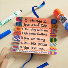 hello, Wonderful - 15 CRAFTY FATHER'S DAY GIFTS FROM KIDS DAD WILL LOVE