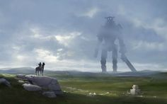Shadow of the Colossus. (Fan Art) 1920x1200