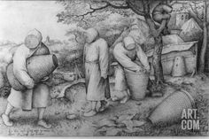 The Beekeepers, 'If You Know Where the Treasure Is, You Can Rob It', C.1567-68 Photographic Print by Pieter Bruegel the Elder at Art.com