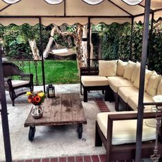 First Build! Giant outdoor sectional   Do It Yourself Home Projects from Ana White