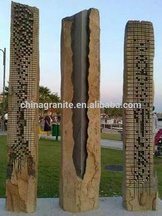 Tallado de piedra paisajismo monolitos-imagen-Productos de piedra para jardines-Identificación del producto:202130388-spanish.alibaba.com