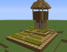 Village Small Farm - GrabCraft - Your number one source for MineCraft buildings, blueprints, tips, ideas, floorplans!
