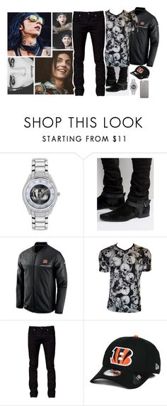"""""""Ootd [ Andy ]"""" by believe-in-you-always ❤ liked on Polyvore featuring Game Time, ASOS, NIKE, Tiger of Sweden, New Era, Native Union, men's fashion and menswear"""