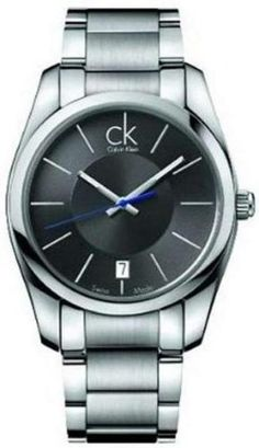 d34356493ef Calvin Klein Steel Bracelet Strive Charcoal Dial Men s watch  K0K21107 Calvin  Klein.  196.04