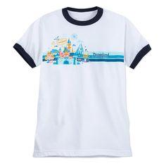 Product Image of Disneyland Ringer T-Shirt for Adults   1 Disneyland Shirts f79bc062f