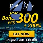 Deposit Bonus Codes - $400 Free plus 300% Match on your deposit of 50 - Bet4Joy