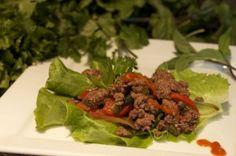 Thai Basil Beef Lettuce Wraps - Everyday Paleo