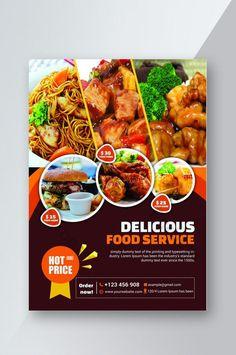 Graphic Design Flyer, Food Poster Design, Make A Paper Airplane, Brochure Food, Menu Flyer, Pharmacy Design, Restaurant Flyer, Flyer Design Inspiration, Sale Flyer