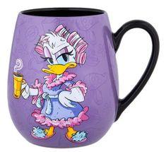 Disney Parks Daisy Bold and Sweet Just Like My Coffee Ceramic Mug New Microwave and dishwasher safe Ceramic New Disney Coffee Mugs, Cute Coffee Mugs, Cool Mugs, Coffee Cups, Coffee Time, Coffee Art, Casa Disney, Disney Home, Disney Parks