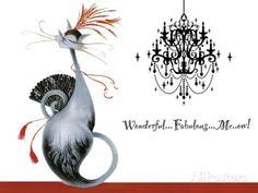 Wonderful Fabulous Meow! Posters par Marilyn Robertson sur AllPosters.fr
