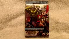 1 set of marvel avengers assemble jumbo playing cards new