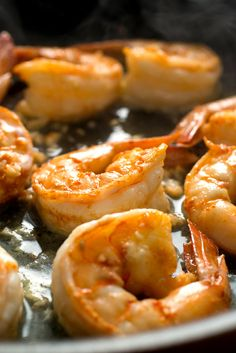 "NYT Cooking: These shrimp are a component of <a href=""http://cooking.nytimes.com/recipes/1018456-arroz-gordo"">arroz gordo</a>, or fat rice, a party dish from Macau, but you could just as easily serve them on their own on a bed of rice, perhaps, or alongside braised bok choy or a smashed cucumber salad."