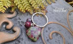 Your place to buy and sell all things handmade Healing Stones, Crystal Healing, Pet Charm, Crystal Beads, Crystals, Thing 1, Handcrafted Jewelry, Handmade, Pet Collars
