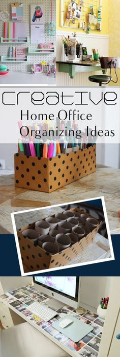 Creative Home Office Organizing Ideas - Page 8 of 11 - How To Build It