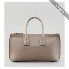 Brunello Cucinelli Neoprene/Leather Tote Bag