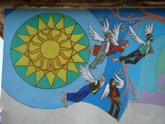 Wishes and dreams on the walls - Bodvalenke, the frescoe village of Hungary Bodvalenke is a tiny village in the north of Hungary, where almost all the inhabitants are Roma. Hungary, Budapest, Bugs, Beetles, Insects