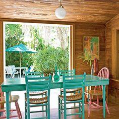 Kitchen Bungalow Playa Key West Decor Cottage Living Coastal