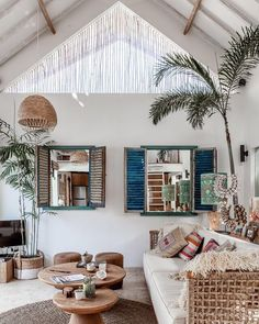 rustic tropical chic