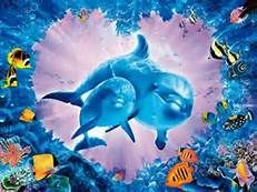 clementoni jigsaw puzzle, 1000 pieces, painting of a dolphin love reef by christian reese lassen cle love-reef-christian-riese-lassen Dolphin Painting, Dolphin Art, Most Beautiful Animals, Beautiful Creatures, Dolphin Images, Dolphins Tattoo, Sea Life Art, Underwater Art, Bottlenose Dolphin