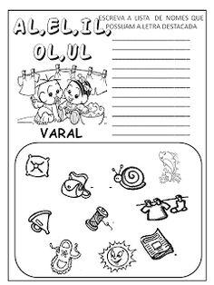 Dani Educar : Listas com sílabas complexas