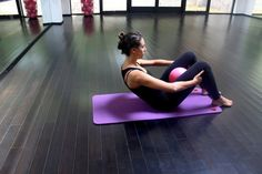 4 Lower Abdominal Exercises: scissors, high curl, boat pose, and elbow plank