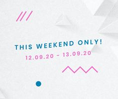 This weekend only social media sale advertisement template vector | premium image by rawpixel.com / Mind Social Media Template, Social Media Design, Advertisement Template, Get More Followers, Advertising, Ads, Direct Marketing, Sale Promotion, Public Relations