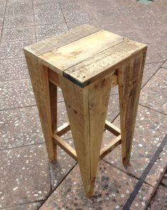 Pallet Bar stools - Have a Safe day