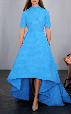 Short Sleeve Miranda Dress by Emilia Wickstead. I adore this dress, too bad I dont have a reason to own it or you know the $3400 it costs