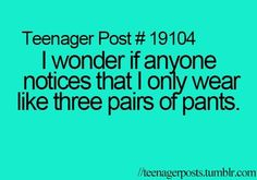 3 pairs of pants