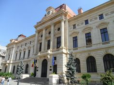 National Bank of Romania Building. Bucharest Romania, Louvre, Street View, Europe, Gallery, Building, Travel, Beautiful, Classical Architecture