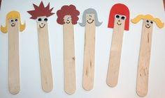 lollipop sticks papercraft - Google Search