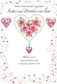 Beautiful anniversary card for a couple love and family marriage anniversary quotes for sister m4hsunfo