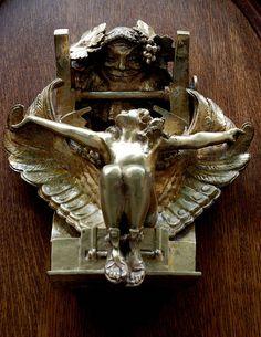 Angel~Door Knocker ~ Creating exquisite door hardware is our specialty > www.baltica.com